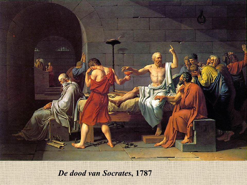 De dood van Socrates, 1787