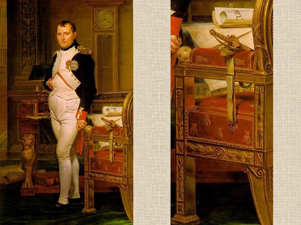 Napoleon in zijn studiekamer, 1812