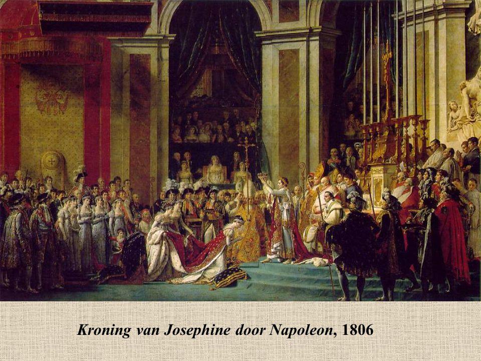Kroning van Josephine door Napoleon, 1806