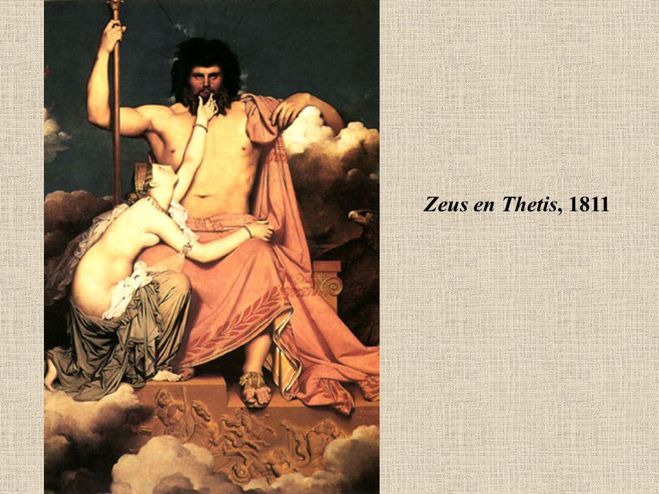 Zeus en Thetis, 1811
