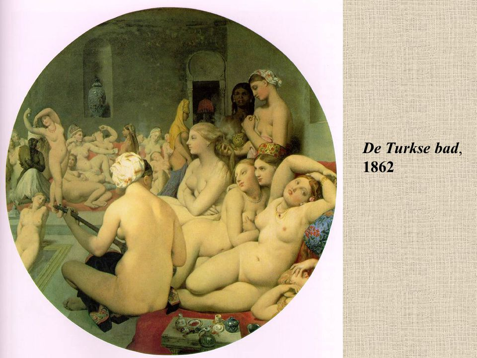 De Turkse bad, 1862