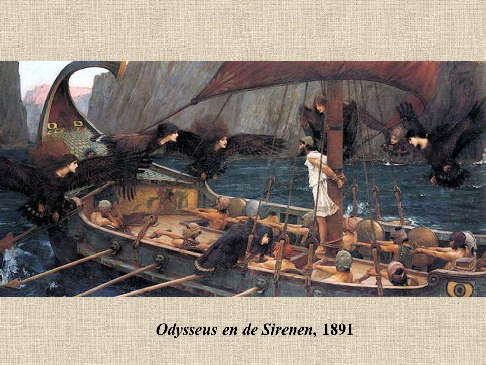 Odysseus en de Sirenen, 1891