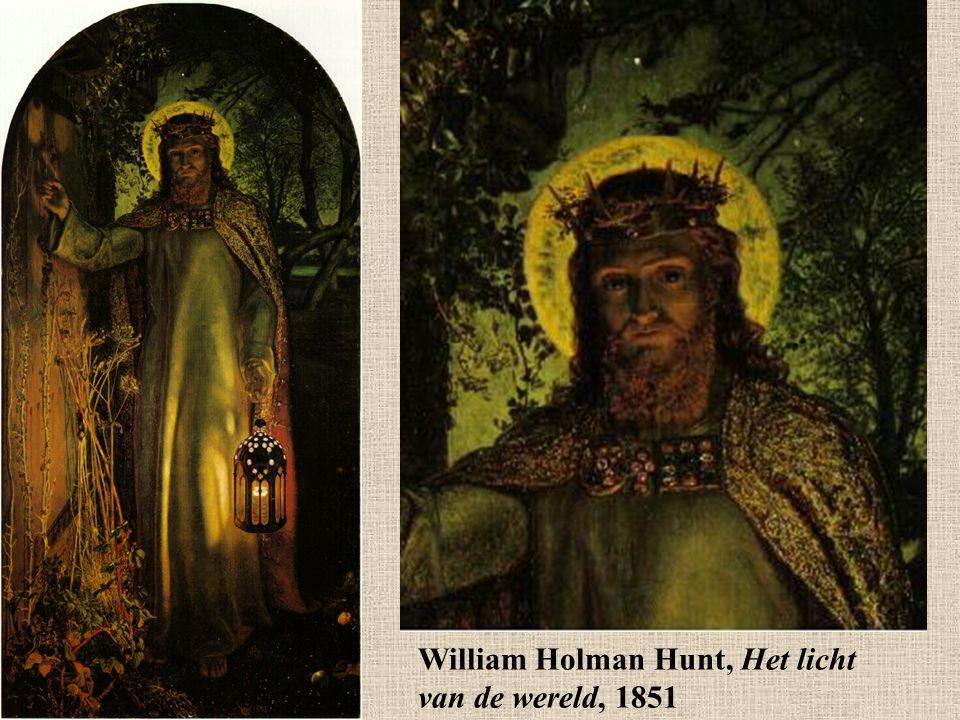 William Holman Hunt, Het licht van de wereld, 1851
