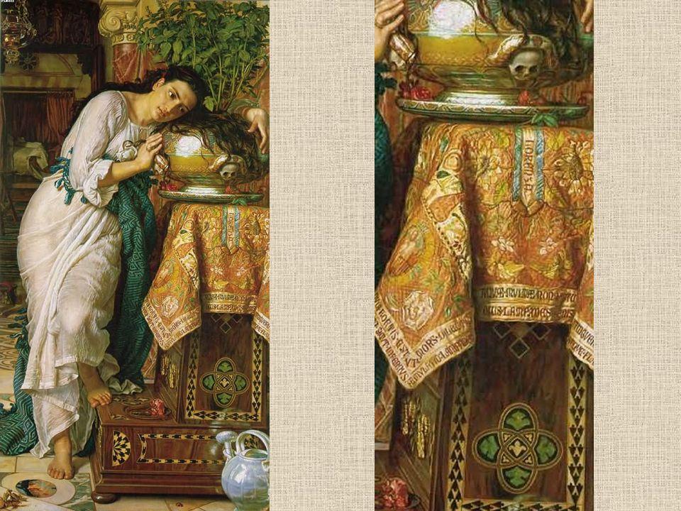 Isabele met de urn van Basil, 1876
