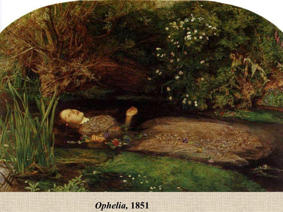 Ophelia, 1851