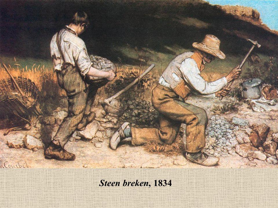 Steen breken, 1834