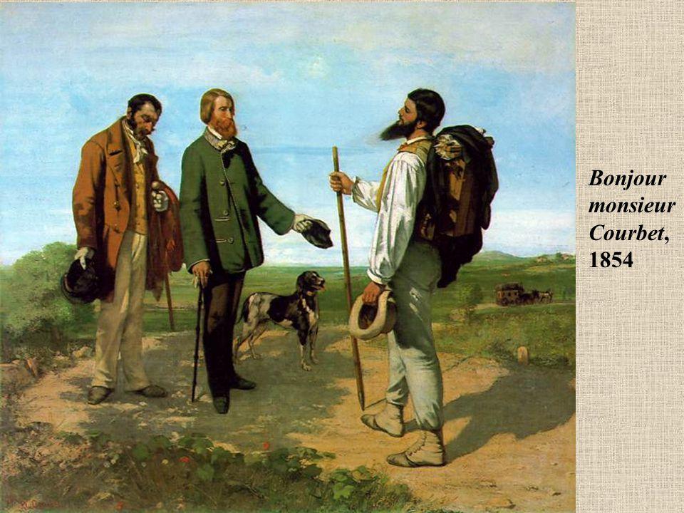 Bonjour monsieur Courbet, 1854