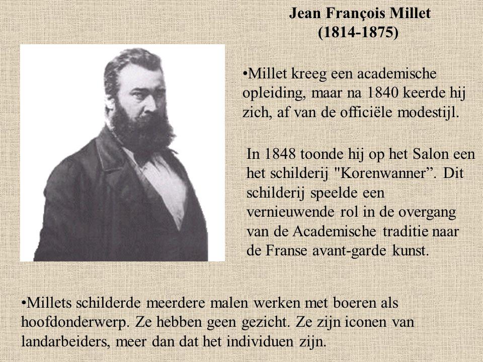 Jean François Millet (1814-1875)