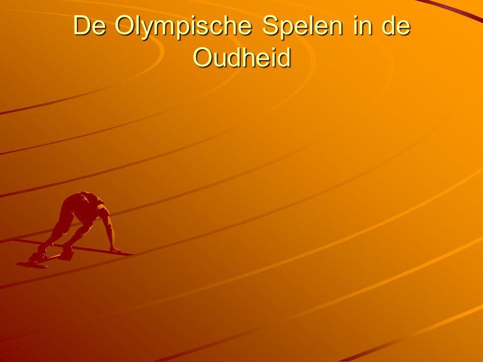 De Olympische Spelen in de Oudheid