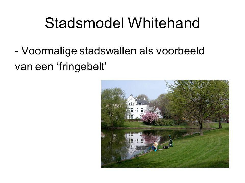 Stadsmodel Whitehand - Voormalige stadswallen als voorbeeld