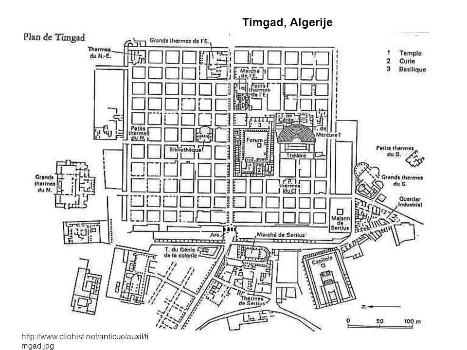 Timgad, Algerije http://www.cliohist.net/antique/auxil/timgad.jpg