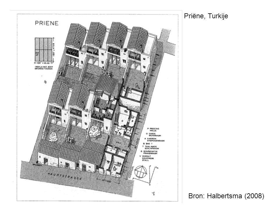 Priëne, Turkije Bron: Halbertsma (2008)
