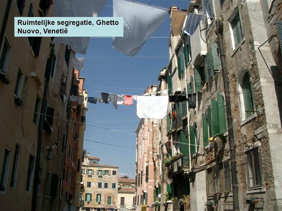 Ruimtelijke segregatie, Ghetto Nuovo, Venetië