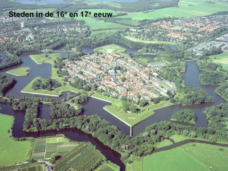 Steden in de 16e en 17e eeuw
