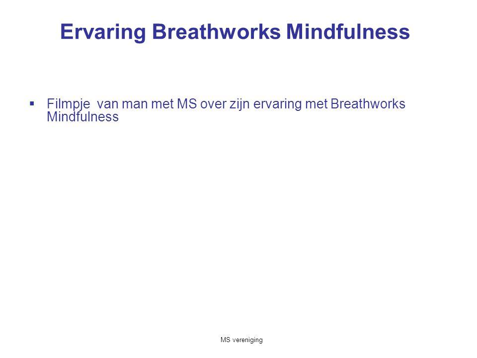 Ervaring Breathworks Mindfulness