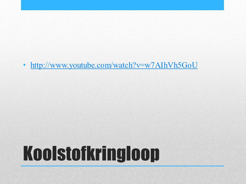 http://www.youtube.com/watch v=w7AIhVh5GoU Koolstofkringloop