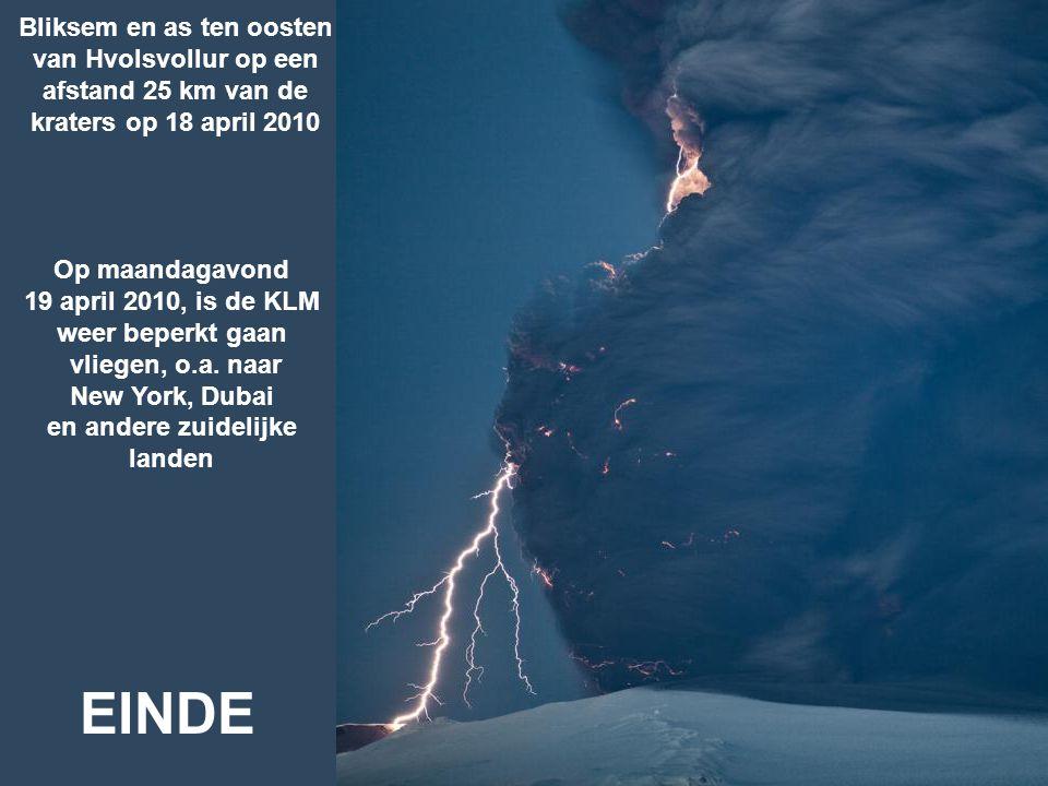 19 april 2010, is de KLM weer beperkt gaan en andere zuidelijke landen