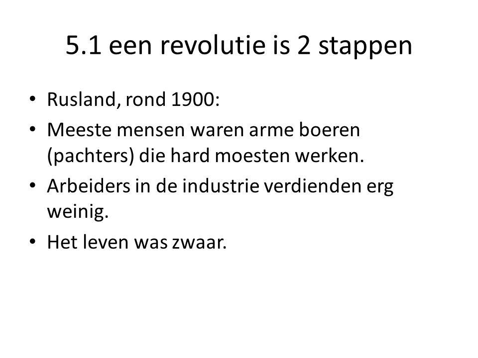 5.1 een revolutie is 2 stappen
