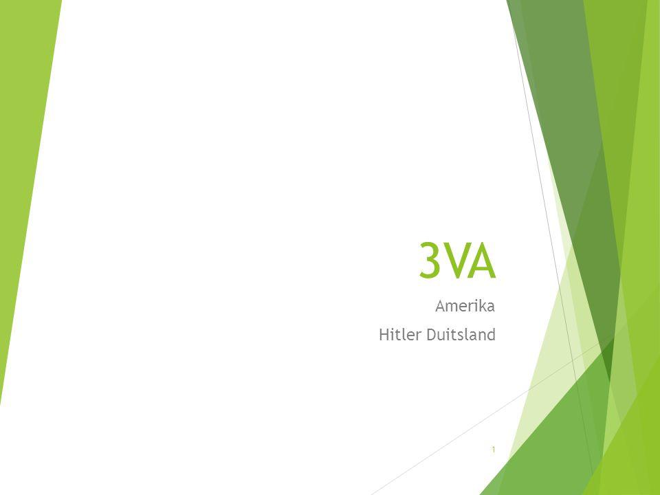 Amerika Hitler Duitsland