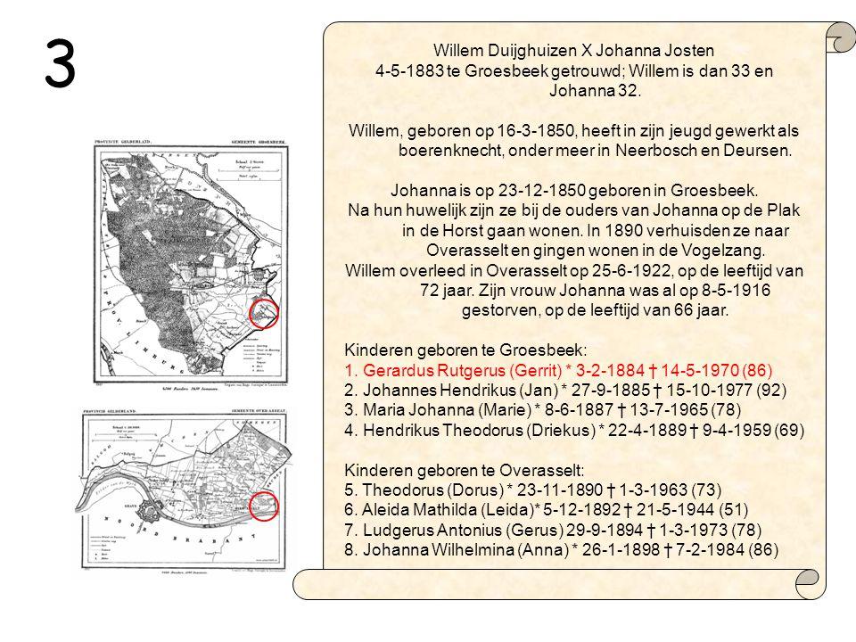 3 Willem Duijghuizen X Johanna Josten