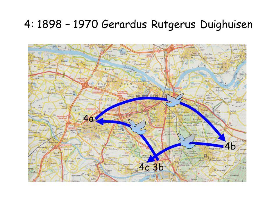 4: 1898 – 1970 Gerardus Rutgerus Duighuisen