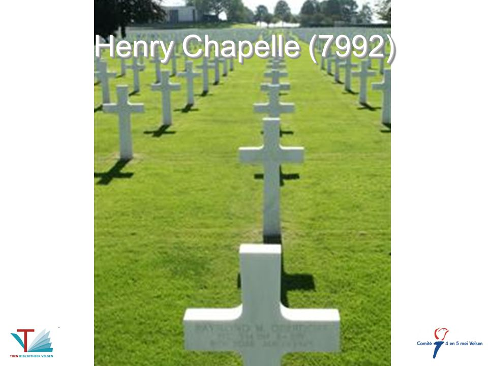 Henry Chapelle (7992)