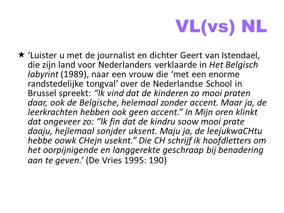 VL(vs) NL