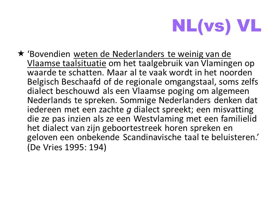 NL(vs) VL