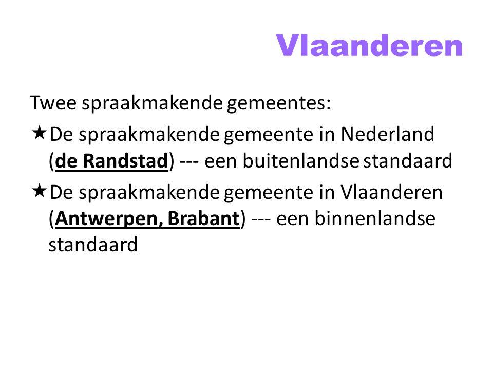 Vlaanderen Twee spraakmakende gemeentes: