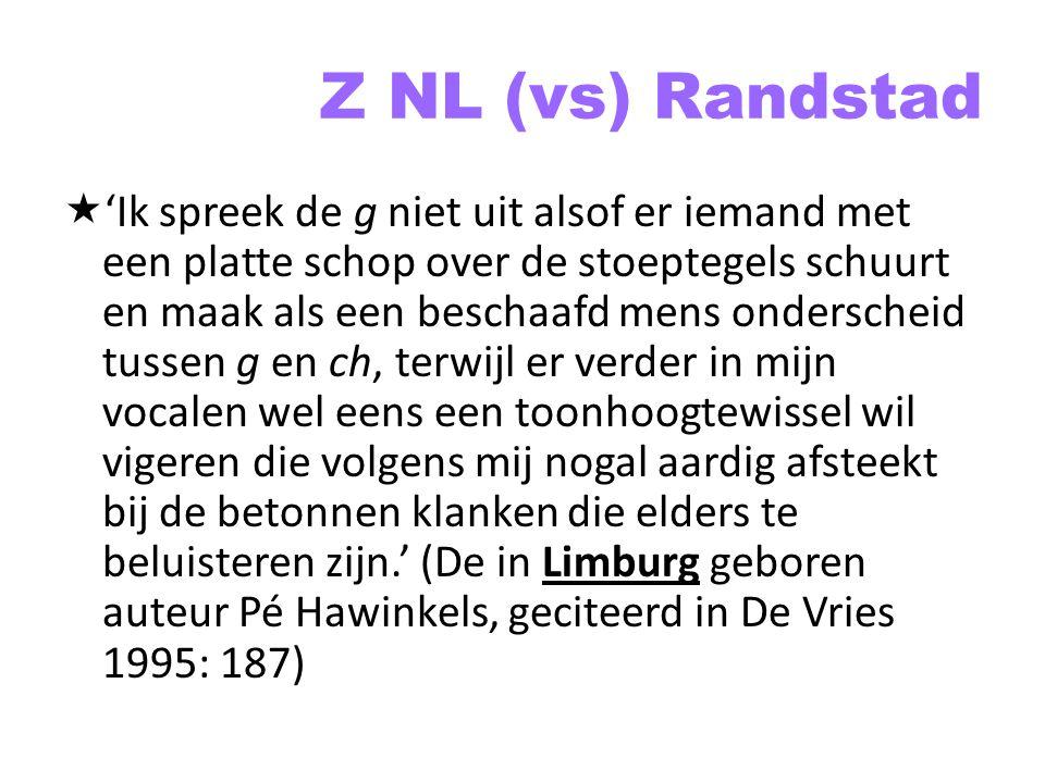 Z NL (vs) Randstad