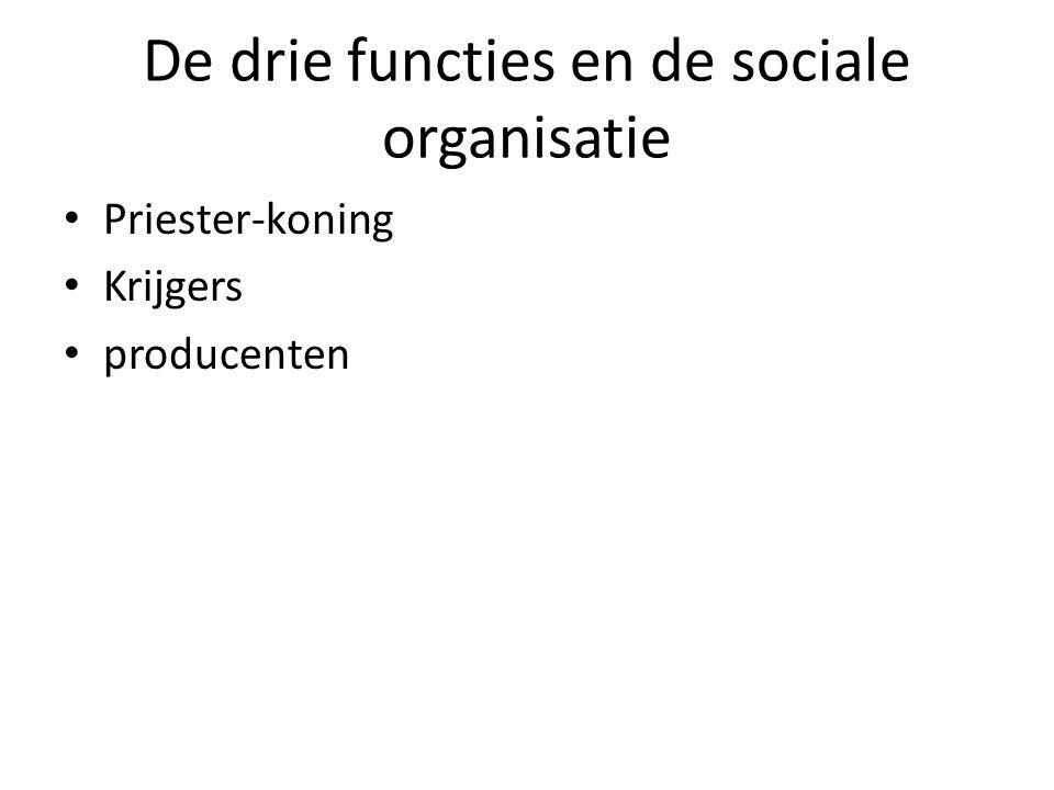 De drie functies en de sociale organisatie