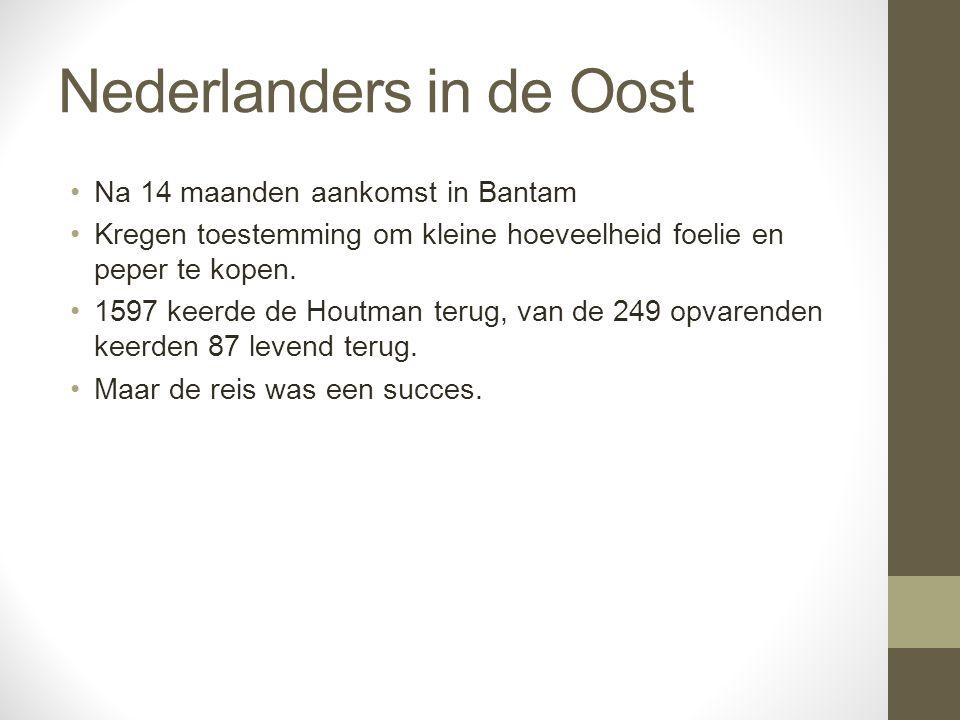 Nederlanders in de Oost