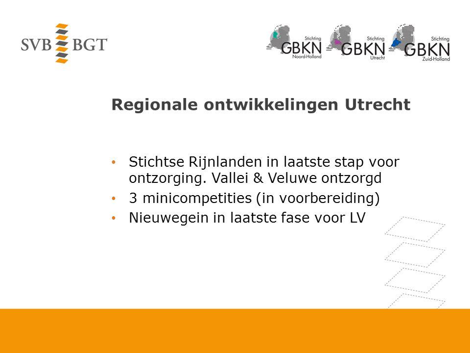 Regionale ontwikkelingen Utrecht