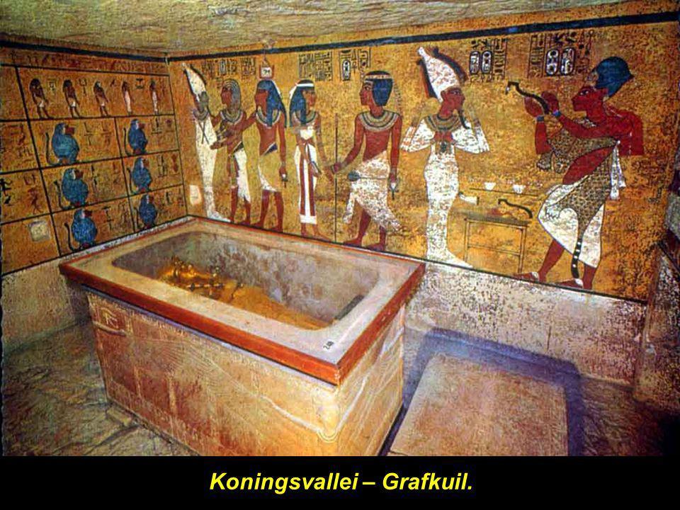 Koningsvallei – Grafkuil.