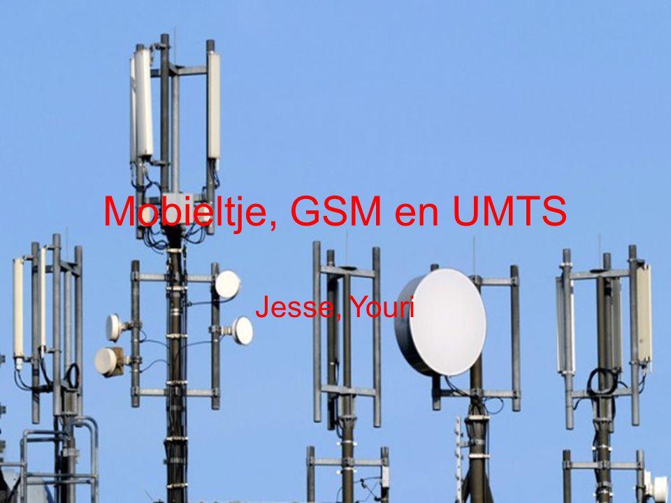 Mobieltje, GSM en UMTS Jesse, Youri