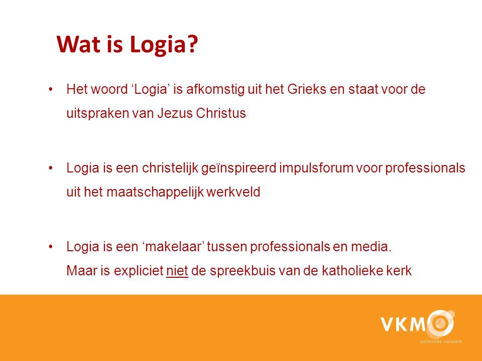 Wat is Logia Het woord 'Logia' is afkomstig uit het Grieks en staat voor de uitspraken van Jezus Christus.
