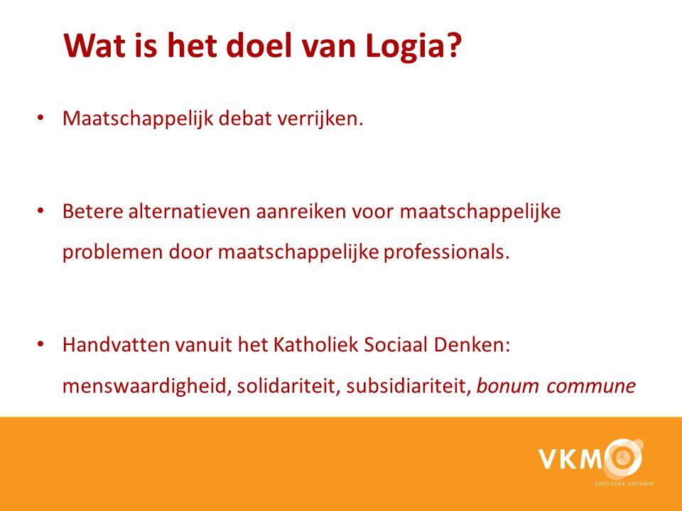 Wat is het doel van Logia