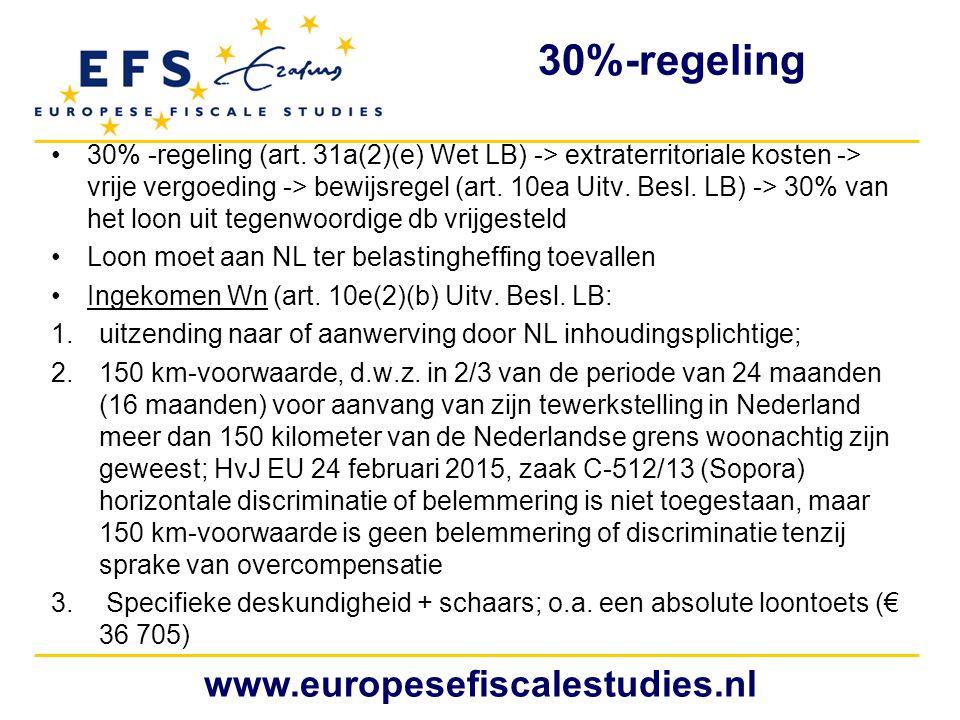 30%-regeling www.europesefiscalestudies.nl