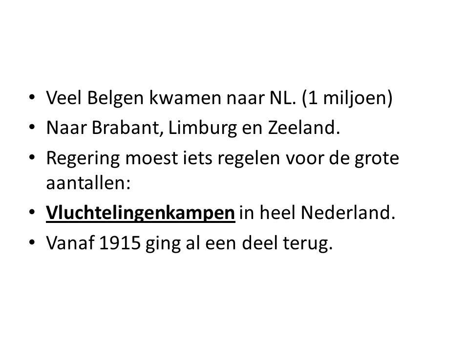 Veel Belgen kwamen naar NL. (1 miljoen)
