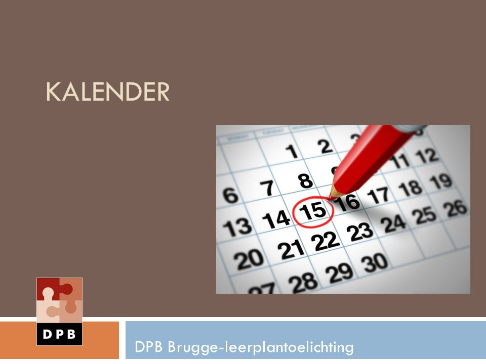 DPB Brugge-leerplantoelichting