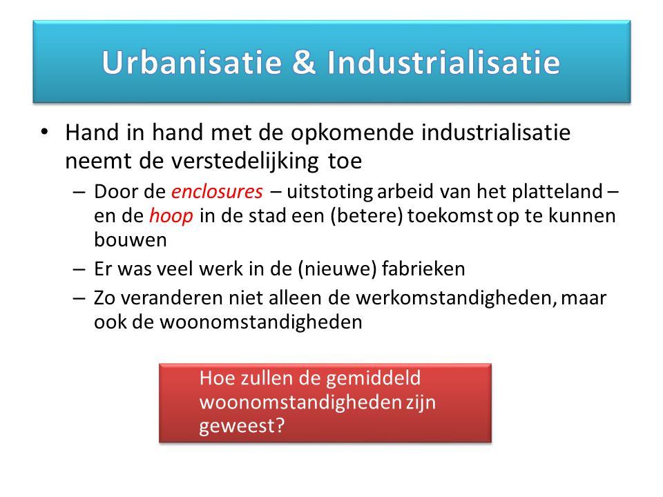 Urbanisatie & Industrialisatie