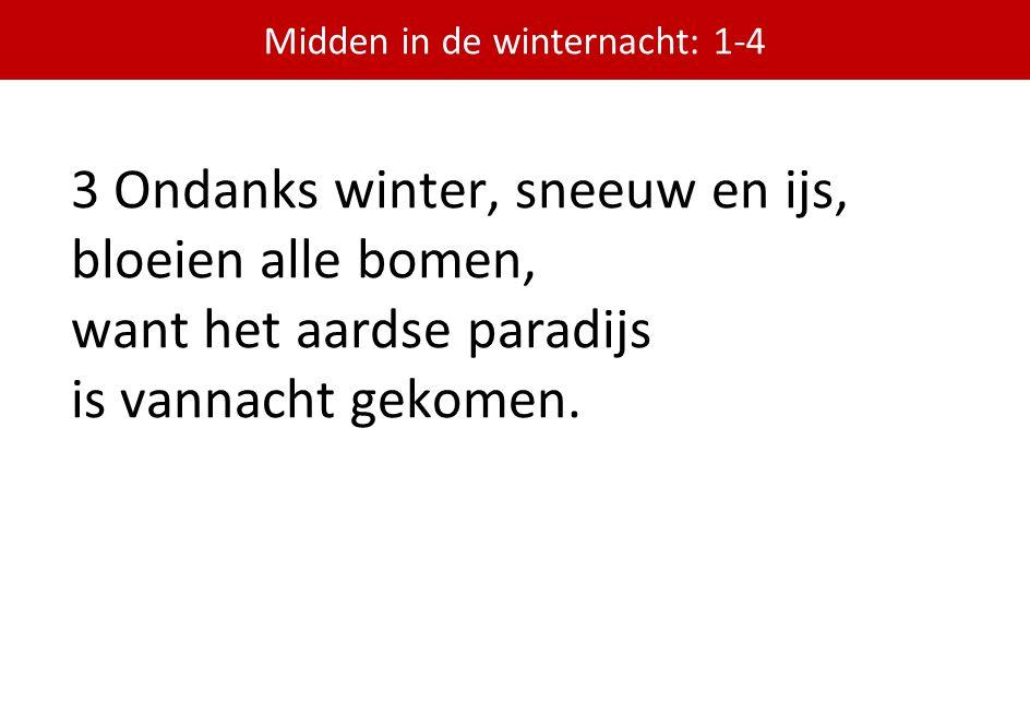 Midden in de winternacht: 1-4