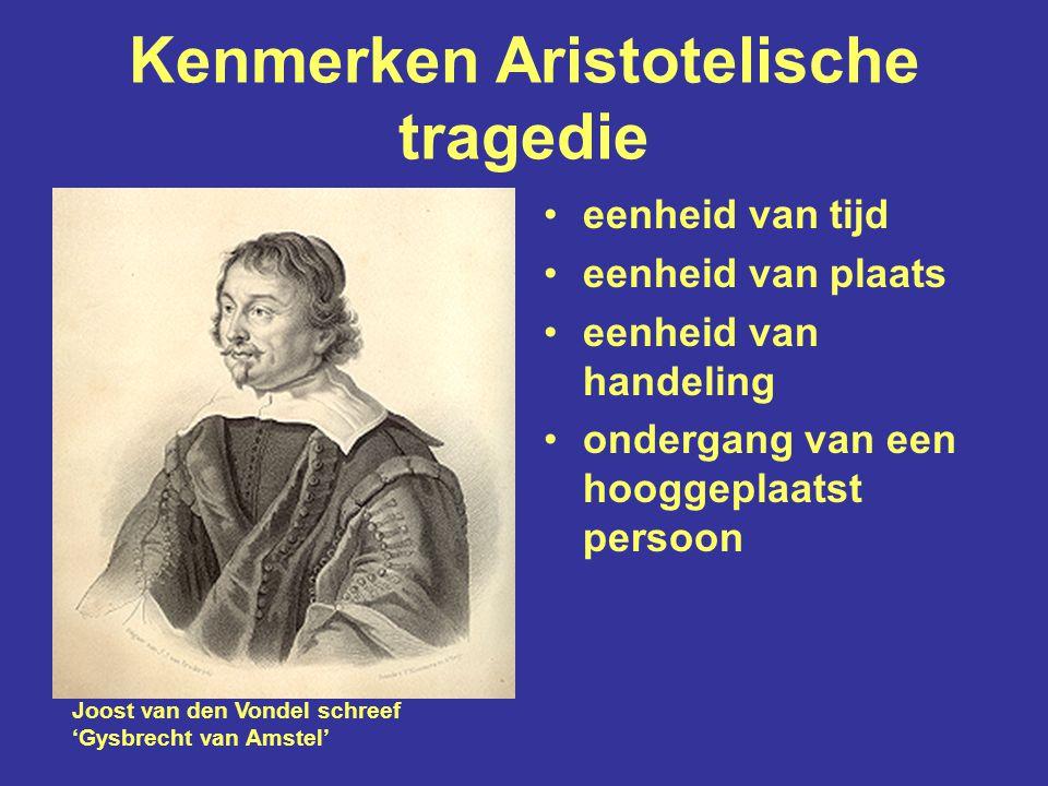 Kenmerken Aristotelische tragedie