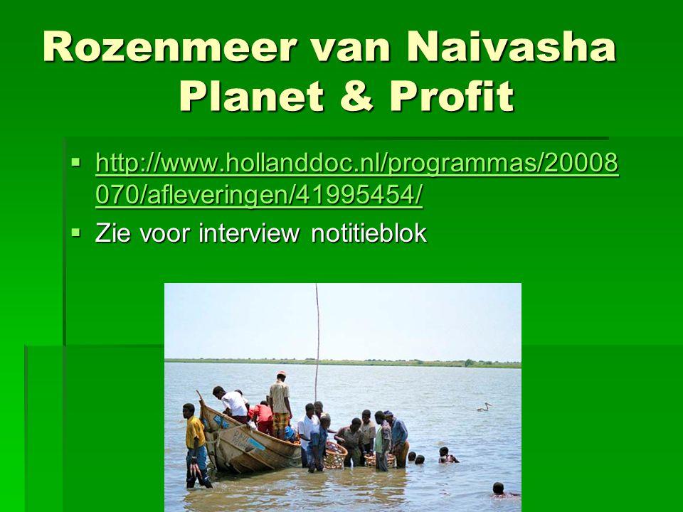 Rozenmeer van Naivasha Planet & Profit