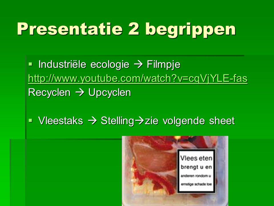 Presentatie 2 begrippen