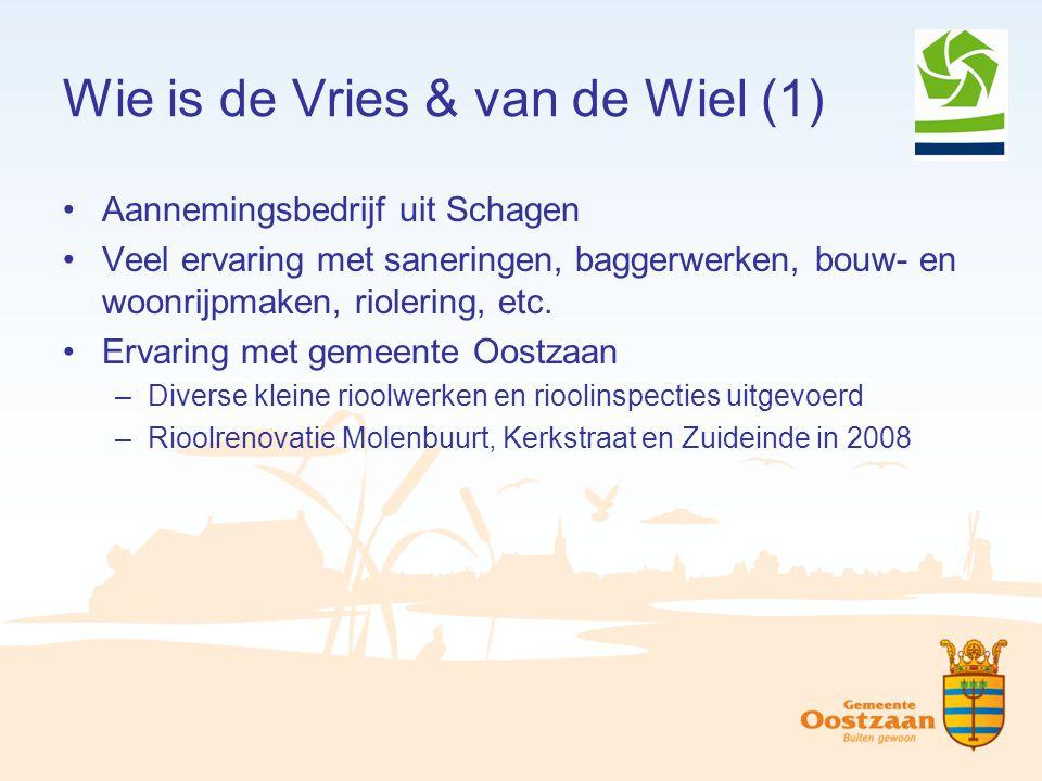 Wie is de Vries & van de Wiel (1)