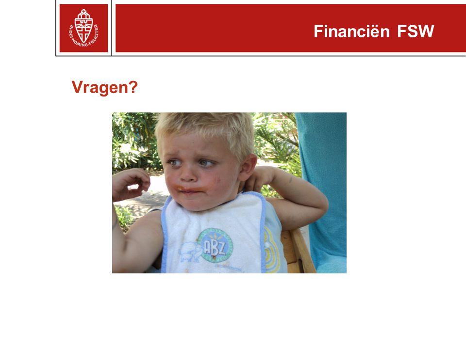 Financiën FSW Vragen
