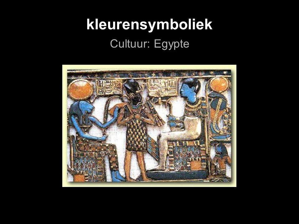 kleurensymboliek Cultuur: Egypte