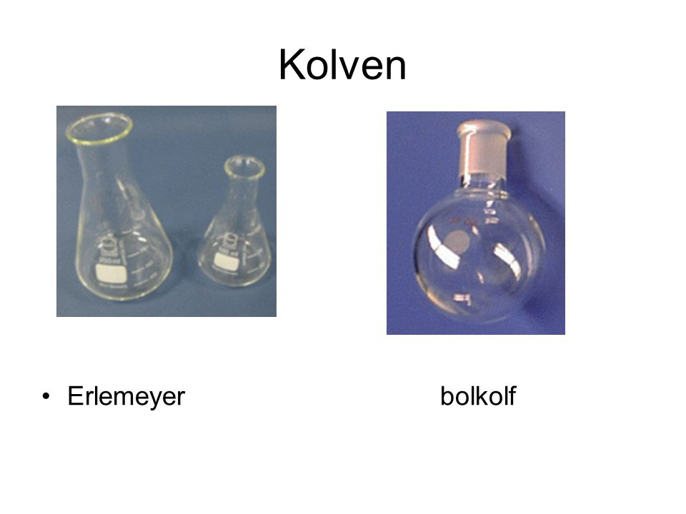 Kolven Erlemeyer bolkolf