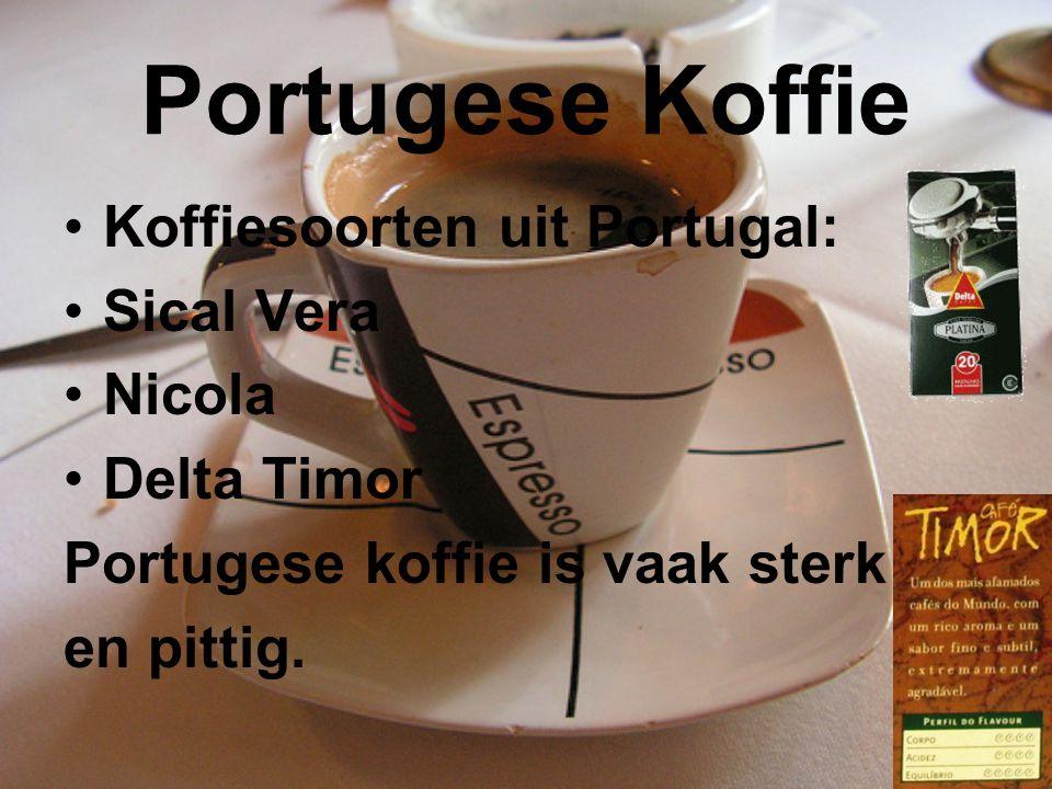 Portugese Koffie Koffiesoorten uit Portugal: Sical Vera Nicola